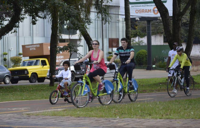 Ações promovem o uso da bicicleta para o lazer, esporte e transporte