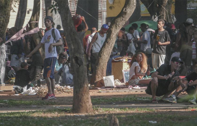Após operação policial, capital paulista tem 22 locais com usuários de crack