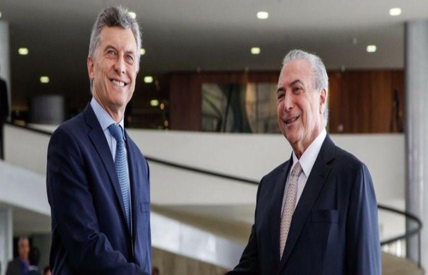 """Brasil busca """"prosperidade compartilhada"""" com Argentina, diz Temer"""
