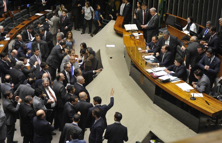 Câmara é notificada sobre processo contra candidatura de Rodrigo Maia
