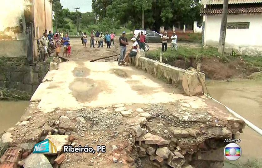 Com 44 mil pessoas afetadas, municípios de PE contabilizam prejuízos após chuvas
