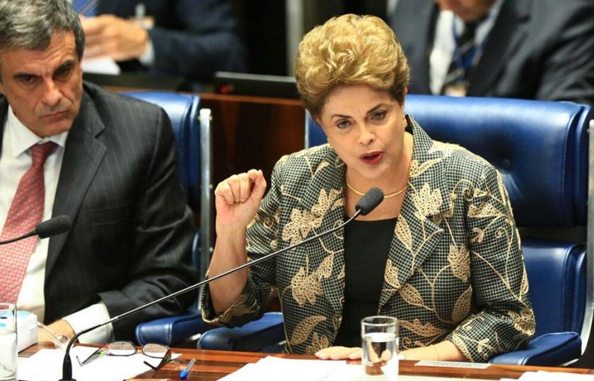 Dia de Dilma no Senado é histórico, mas não sinaliza virada de voto