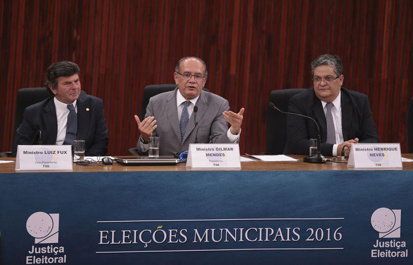 Eleições 2016: presidente do TSE faz balanço sobre o segundo turno