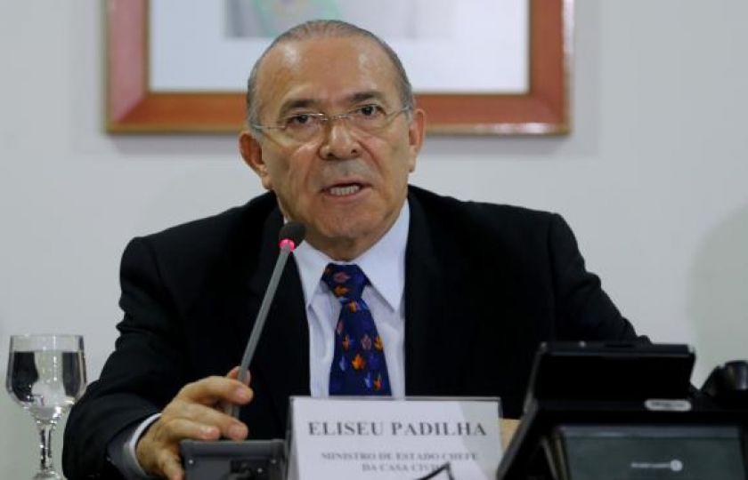 Eliseu Padilha diz que militares ficarão fora da reforma da Previdência
