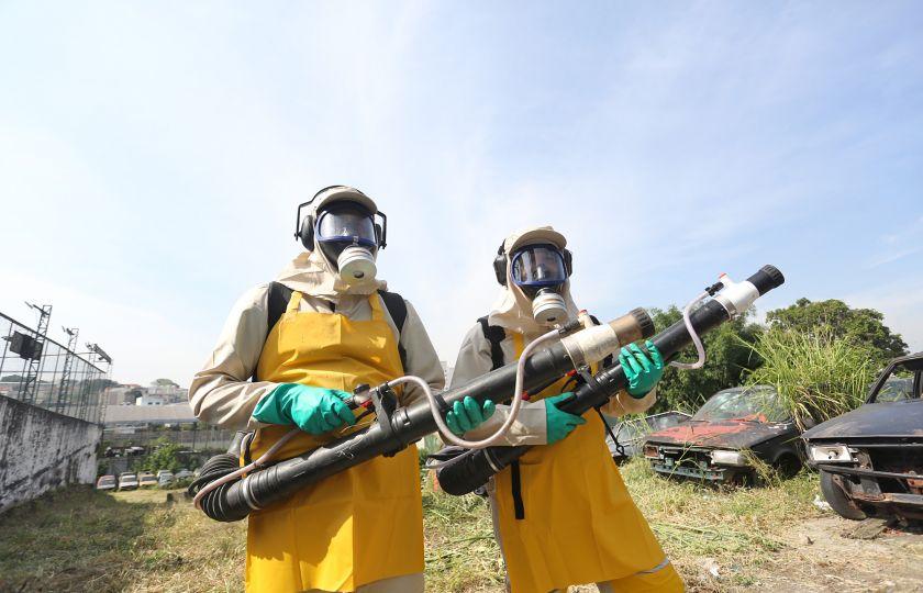 Força tarefa no combate a Dengue