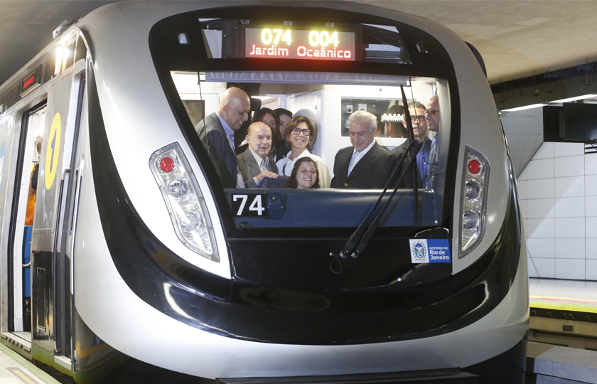 Fraudes no metrô do Rio custaram R$ 3 bilhões aos cofres estaduais