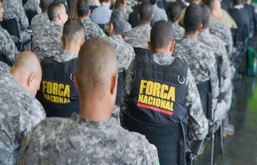 Integrantes da Força Nacional vão reforçar policiamento no Espírito Santo