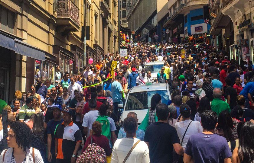 Mais de 90% da população brasileira viverão em cidades em 2030