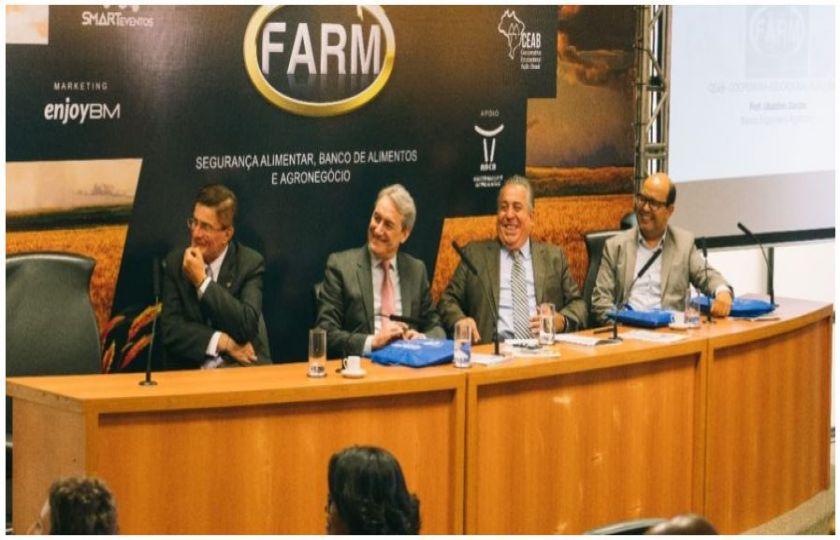 PARCERIA COM GOVERNO DO ESTADO DE SÃO PAULO E APOIO DA FAO