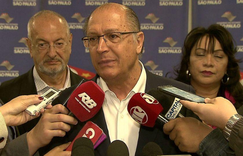 'Parlamentares votaram de acordo com a sua convicção', diz Alckmin sobre rejeição de denúncia contra Temer