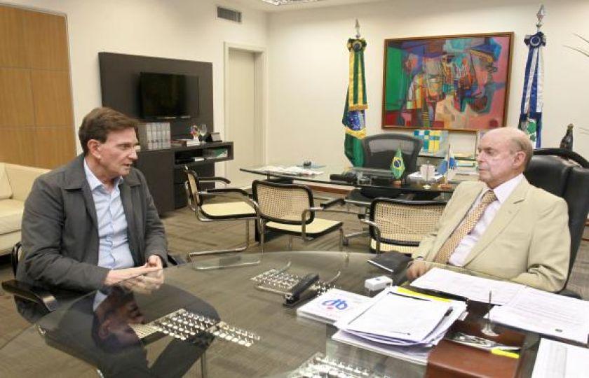 Prefeito e governador do Rio pedem apoio federal no combate à violência