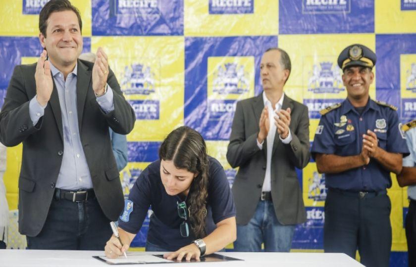 Prefeito Geraldo Julio reforça Guarda Municipal do Recife com mais 357 agentes