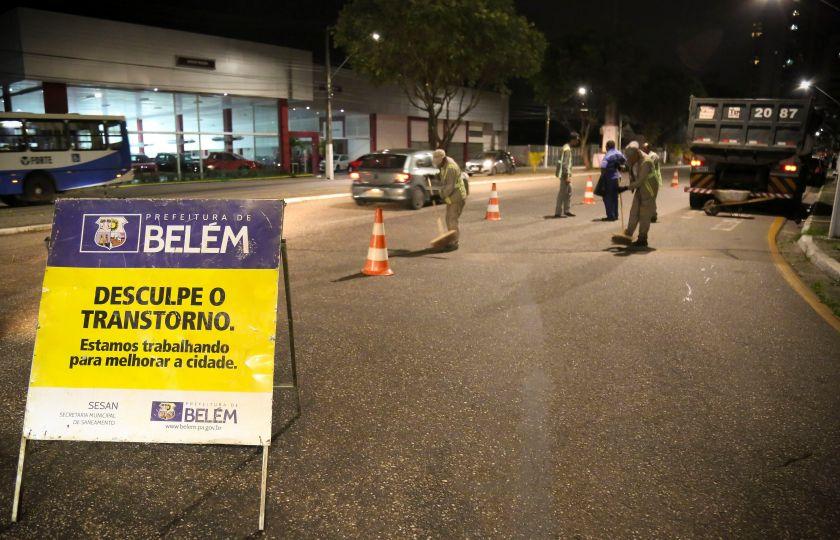 Prefeitura de Belém destinou em 2017 mais de 11 milhões para recuperação de asfalto