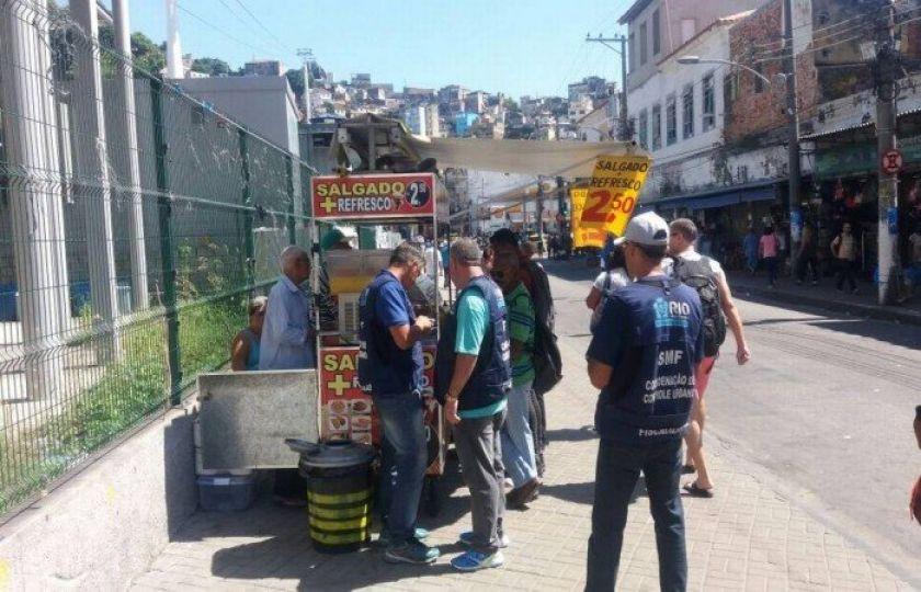 Prefeitura faz operação pelo segundo dia consecutivo na região central do Rio