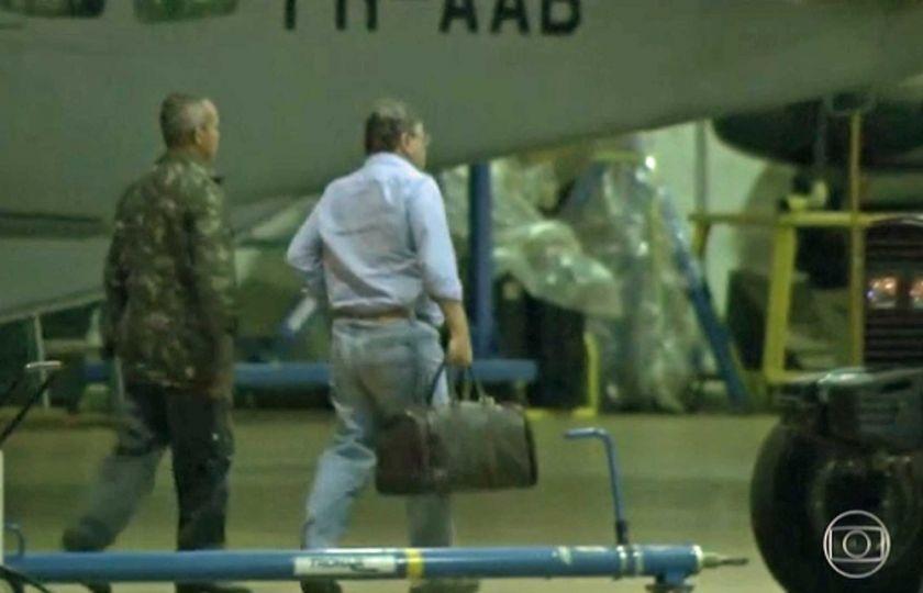 Preso, Geddel chega a Brasília e é levado para a superintendência da Polícia Federal