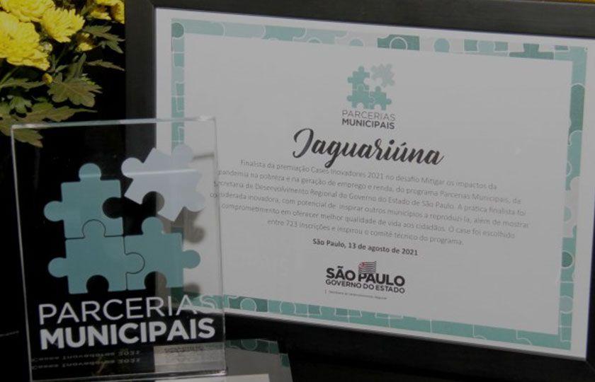 Projeto criado em Jaguariúna é considerado o melhor do estado de SP