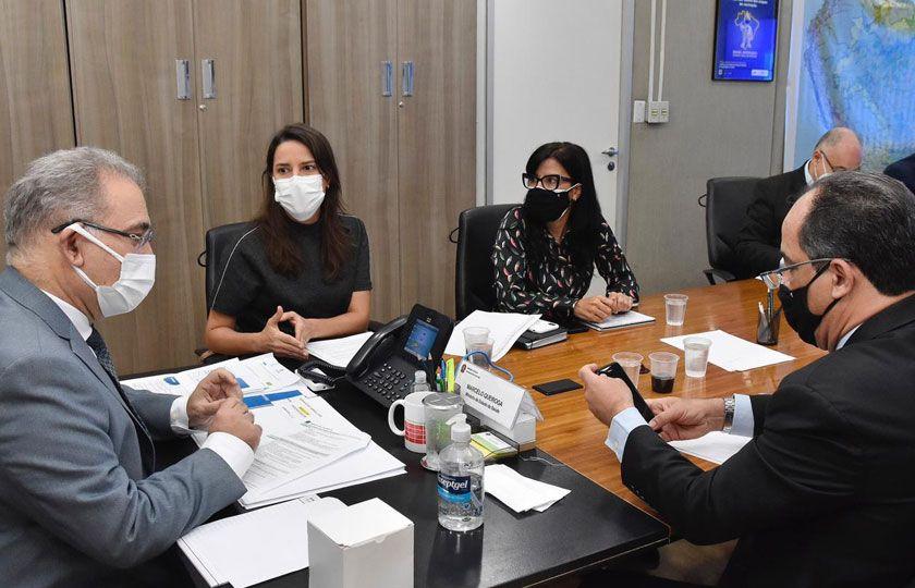 Raquel Lyra cumpre agenda em Brasília em busca de recursos para Caruaru