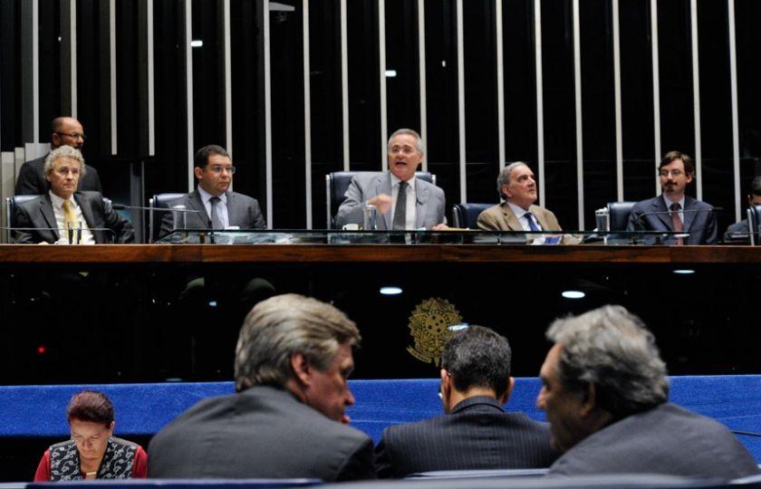 Renan defende PEC do Teto dos Gastos Públicos em sessão temática