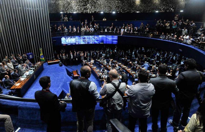 Senado elege Mesa para o biênio 2017-2018