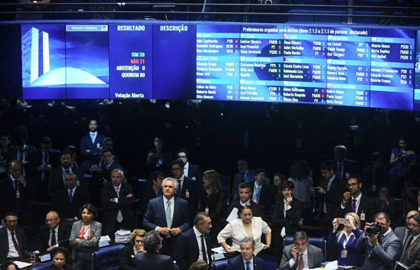 Senado vai julgar presidente Dilma Rousseff por crimes de responsabilidade