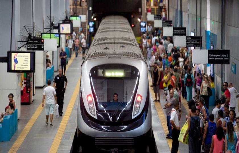 TCU vai fiscalizar uso de recursos federais no metrô do Rio