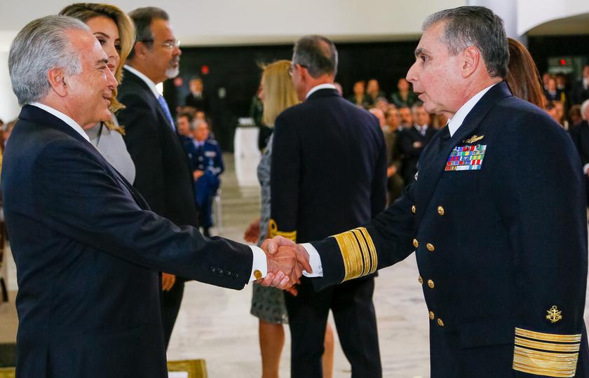 Temer aproveitará 7 de setembro para mostrar relação com as Forças Armadas