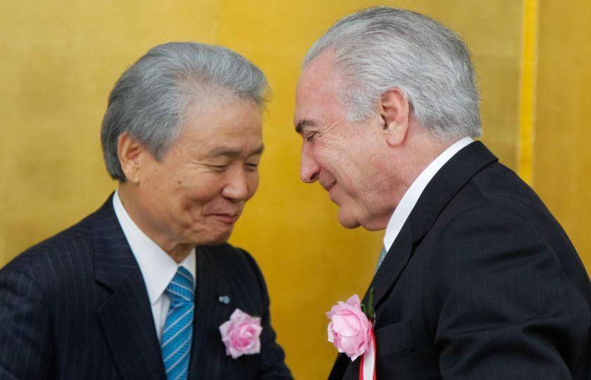 Temer chega hoje a Brasília, após viagem à Índia e ao Japão