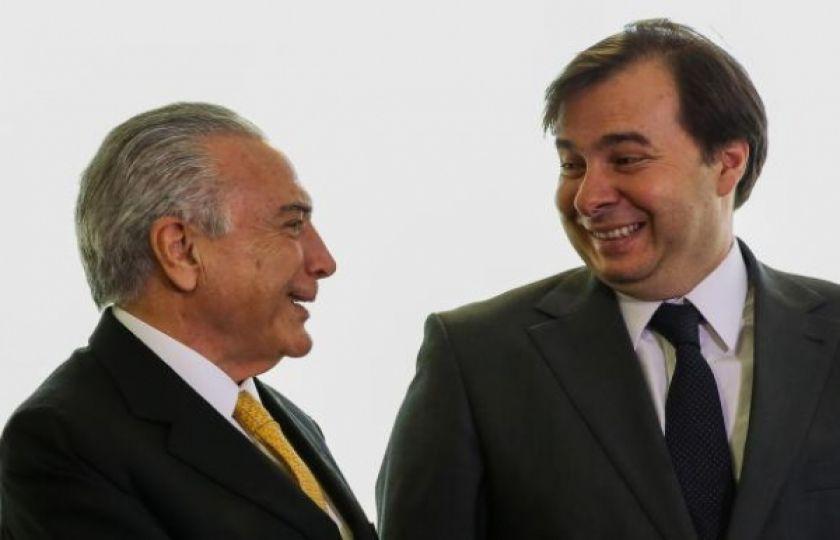 Temer quer que Rodrigo Maia o represente no encerramento da Olimpíada
