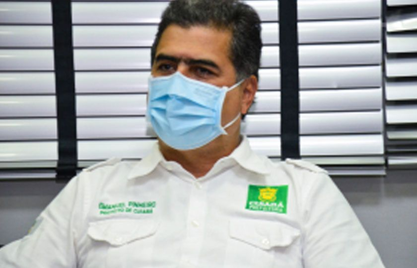 Prefeito de Cuiabá reitera compromisso do gov. federal sobre vacinas extras