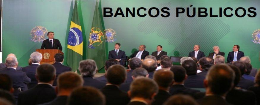 BANCOS PÚBLICOS - Novos dirigentes foram escolhidos por critério técnico, diz Bolsonaro