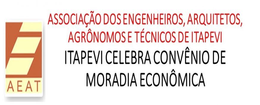 ITAPEVI CELEBRA CONVÊNIO DE MORADIA ECONÔMICA