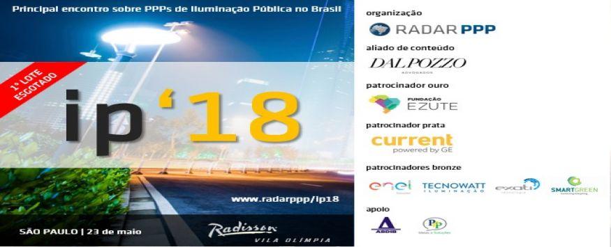 Principal encontro sobre PPP's de Iluminação Pública no Brasil